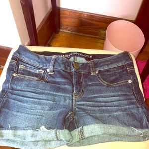 Low Rise American Eagle Jean Shorts